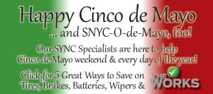 We are celebrating Cinco de Mayo with huge savings!