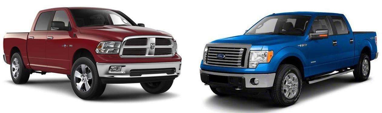 2013 ram 1500 vs 2013 ford f 150 best selling truck in america for 36 years planet ford 45. Black Bedroom Furniture Sets. Home Design Ideas