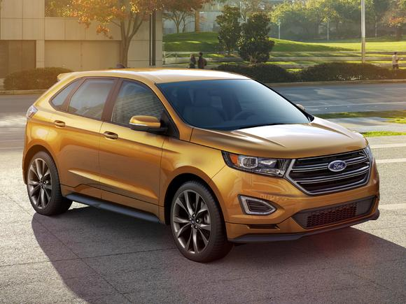The  Ford Edge Is Already Making Noise In The Automotive News And Financial News World Popular Website The Motley Fool Fool Com Has Something To Tell