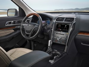 2016 ford interior