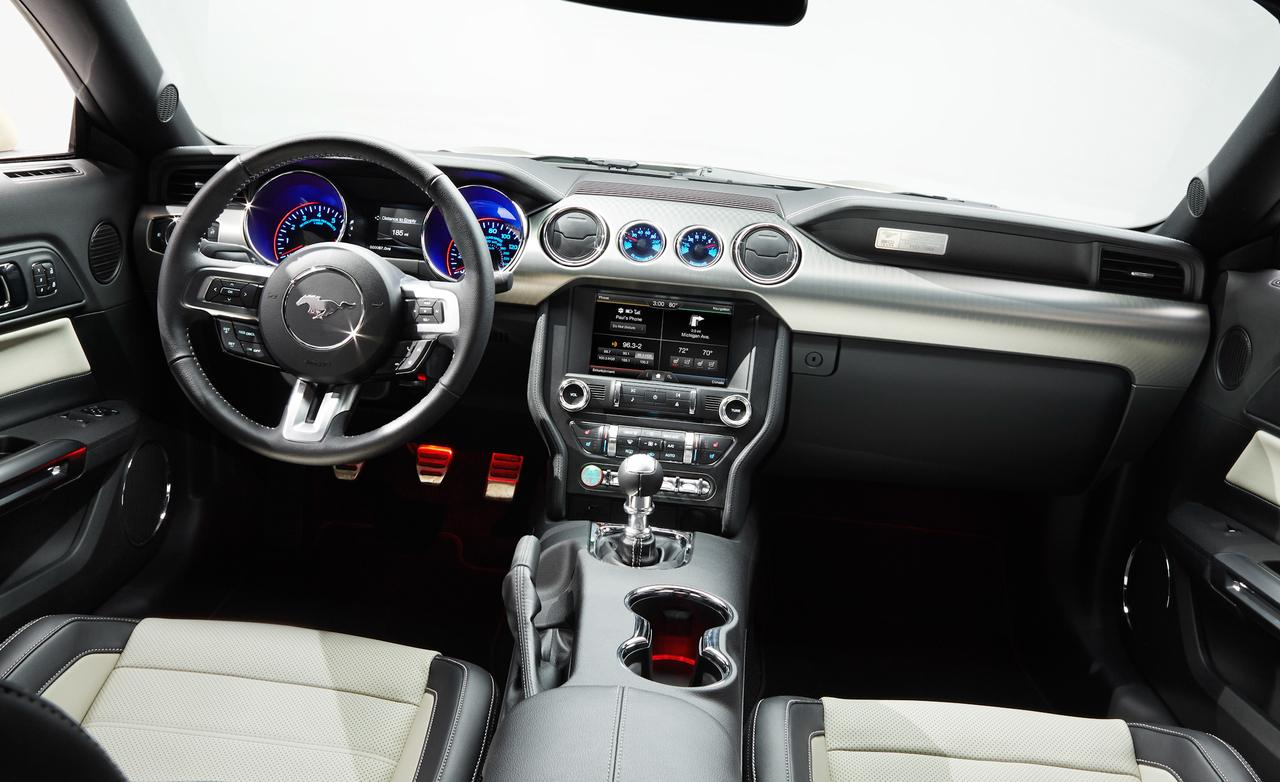 ... 2015 Ford Mustang 50th Anniversary Edition Interior Photo