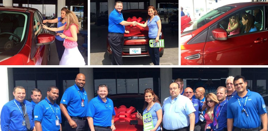 Planet Ford Spring >> Planet Ford Delivers New Escape Keys To Spring Teacher Of