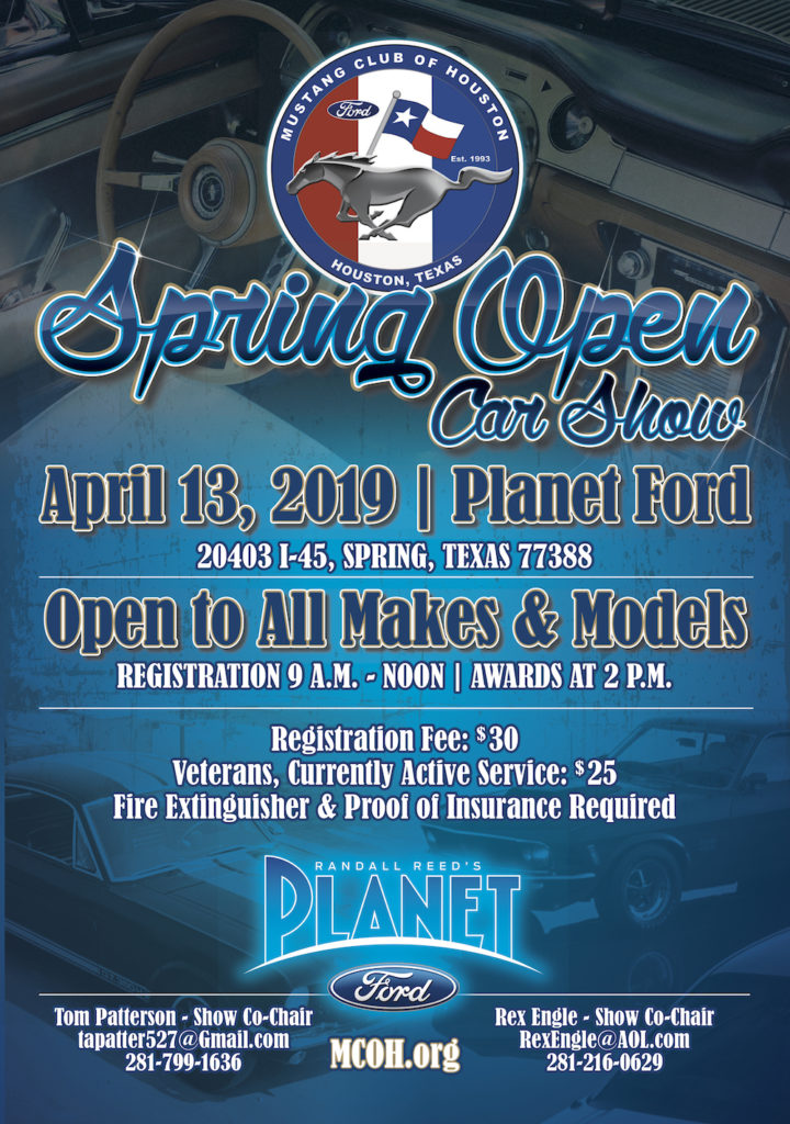 2019's Annual Spring Open Car Show at Planet FordPlanet Ford 45